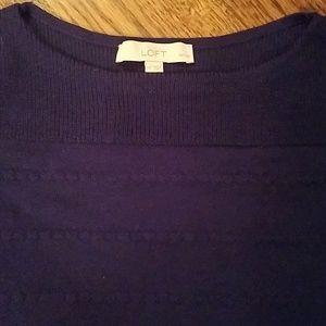 LOFT Sweater in BLUE!